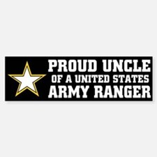 PROUD UNCLE - ARMY RANGER Bumper Bumper Bumper Sticker