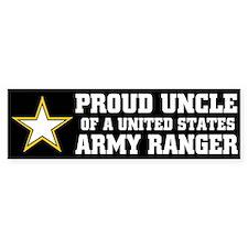 PROUD UNCLE - ARMY RANGER Bumper Bumper Sticker