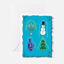 Songs Of The Season Greeting Card (Pk Of 10)