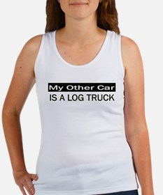 Log Truck Women's Tank Top