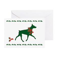 Doberman Christmas Cards (Pk of 10)