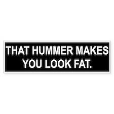 anti hummer Bumper Bumper Sticker