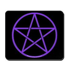 Purple Pentagram Mousepad