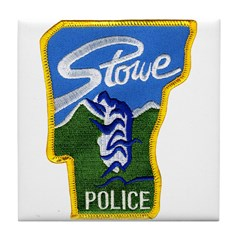 Stowe Police Tile Coaster