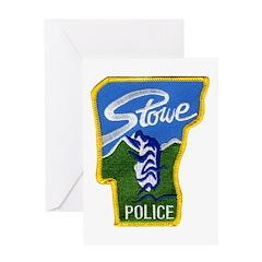 Stowe Police Greeting Card