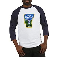 Stowe Police Baseball Jersey