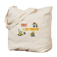 Mike the Builder Tote Bag