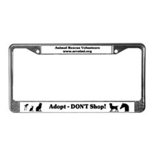 Funny Adopt a horse License Plate Frame