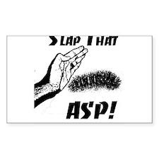 Slap That ASP Rectangle Decal