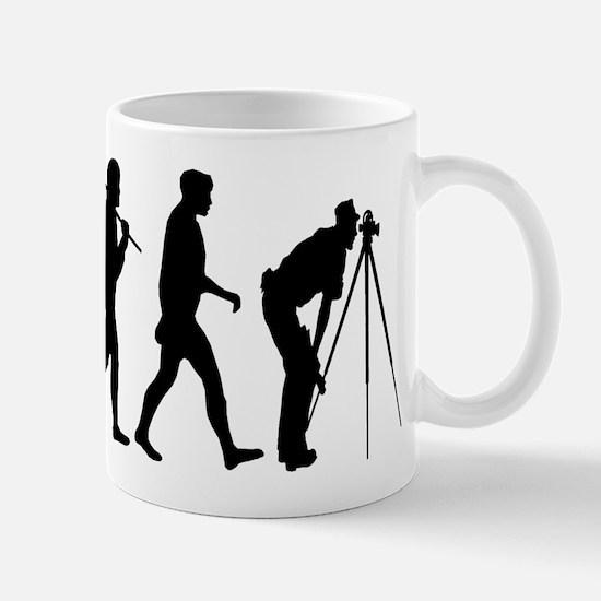 Land Surveying Surveyors Mug