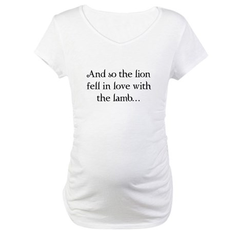 Lion & Lamb Maternity T-Shirt