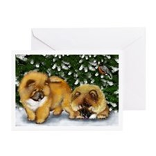 CHOW CHOW DOGS Greeting Cards (Pk of 10)
