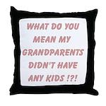 Grandparents Throw Pillow