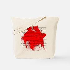 Twilight Quotes (White) Tote Bag