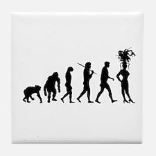 Showgirl Evolution Tile Coaster