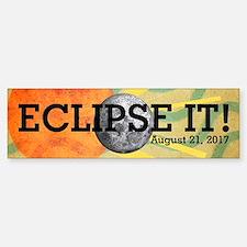 Eclipse 2017 Bumper Bumper Sticker