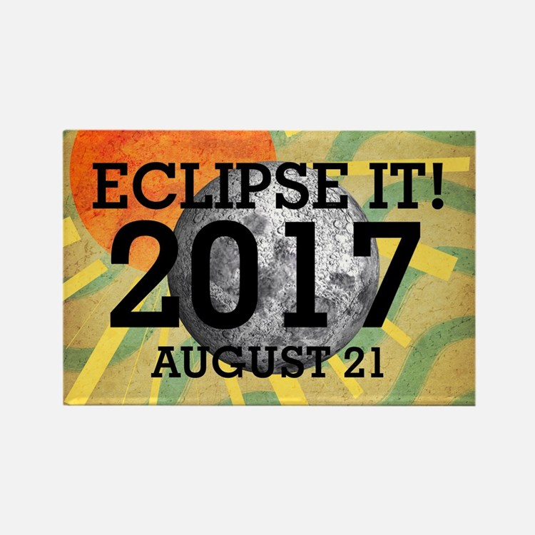 Eclipse 2017 Rectangle Magnet