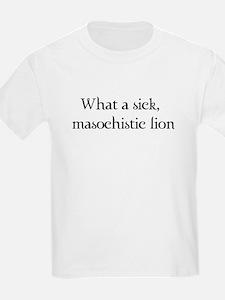 Masochistic Lion T-Shirt