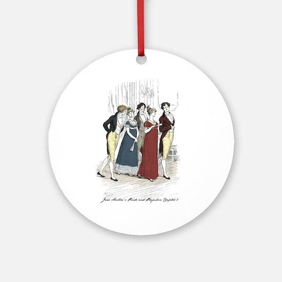 Hugh Thompson 3 Ornament (Round)