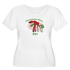 Christmas Kiss 25¢ T-Shirt