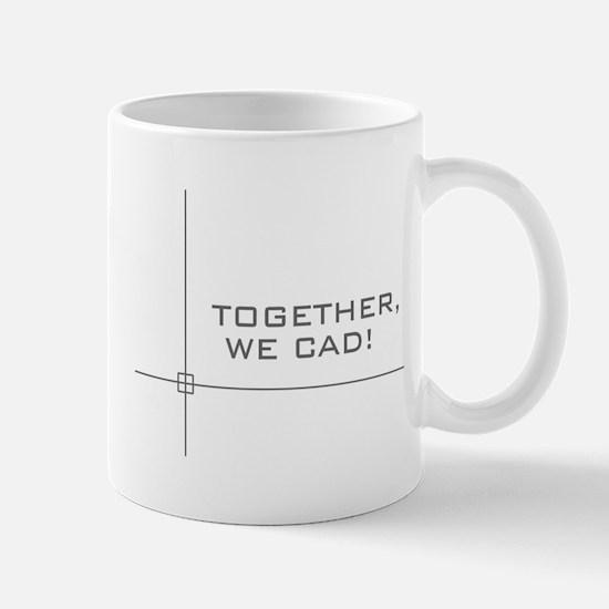 together-black Mugs