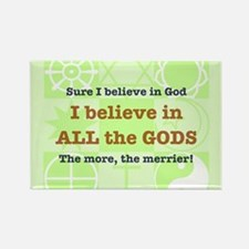 ALL the GODS Rectangle Magnet (10 pack)