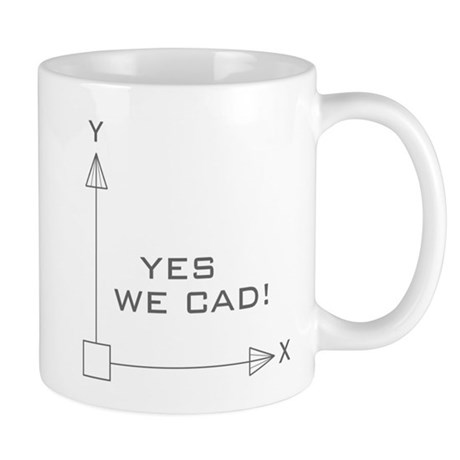 yes-black Mugs