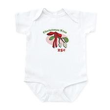 Christmas Kiss 25¢ Infant Bodysuit