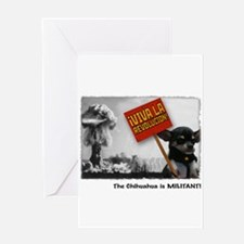 militantchihuahua Greeting Cards