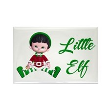 Elf Rectangle Magnet