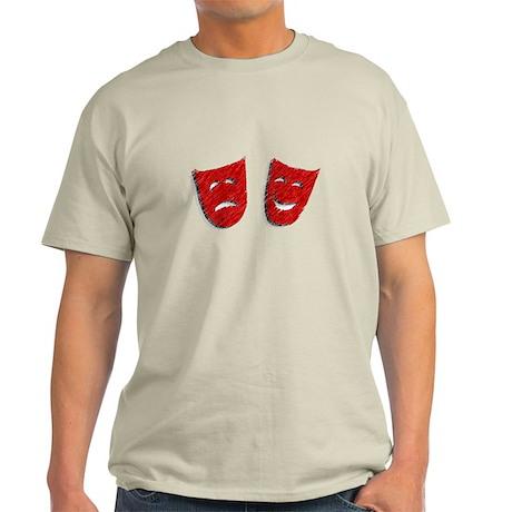 Comedy & Tragedy Light T-Shirt