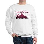 Snowilicious Snowmobile Sweatshirt