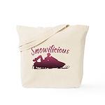 Snowilicious Snowmobile Tote Bag