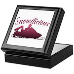 Snowilicious Snowmobile Keepsake Box