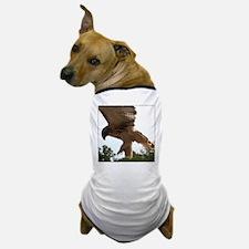 Ostara, Red Tailed Hawk Landi Dog T-Shirt