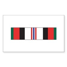 Afghanistan Campaign Rectangle Decal
