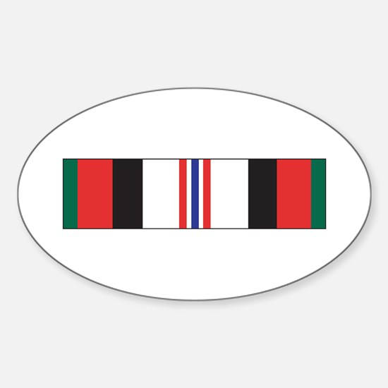 Afghanistan Campaign Oval Decal