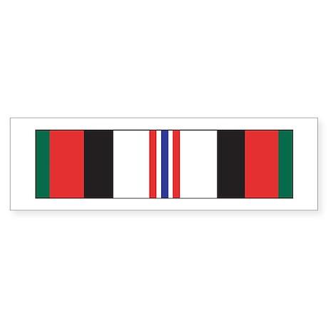 Afghanistan Campaign Bumper Sticker