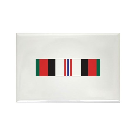 Afghanistan Campaign Rectangle Magnet (10 pack)