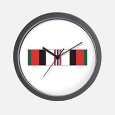Afghanistan Campaign Wall Clock