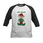 Elf Sized Kids Baseball Jersey