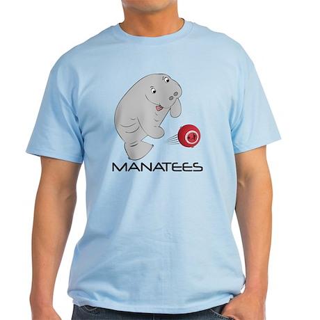 Manatee Light Blue Tee