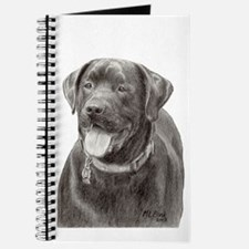 Unique Chocolate lab lovers Journal