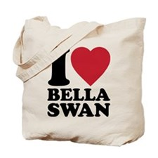 I Love Bella Swan Tote Bag