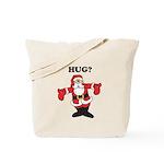 Hug Santa Tote Bag