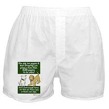 Sixty Thousand Dogs - Spay Neuter Boxer Shorts