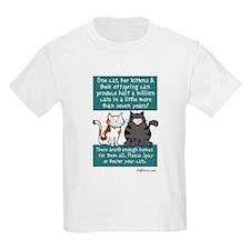 Half a Million Cats - Spay Neuter T-Shirt