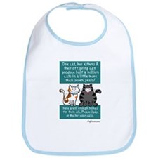 Half a Million Cats - Spay Neuter Bib