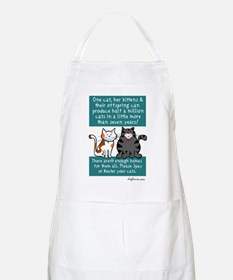 Half a Million Cats - Spay Neuter BBQ Apron