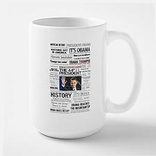 Obama: The 44th President Hea Large Mug